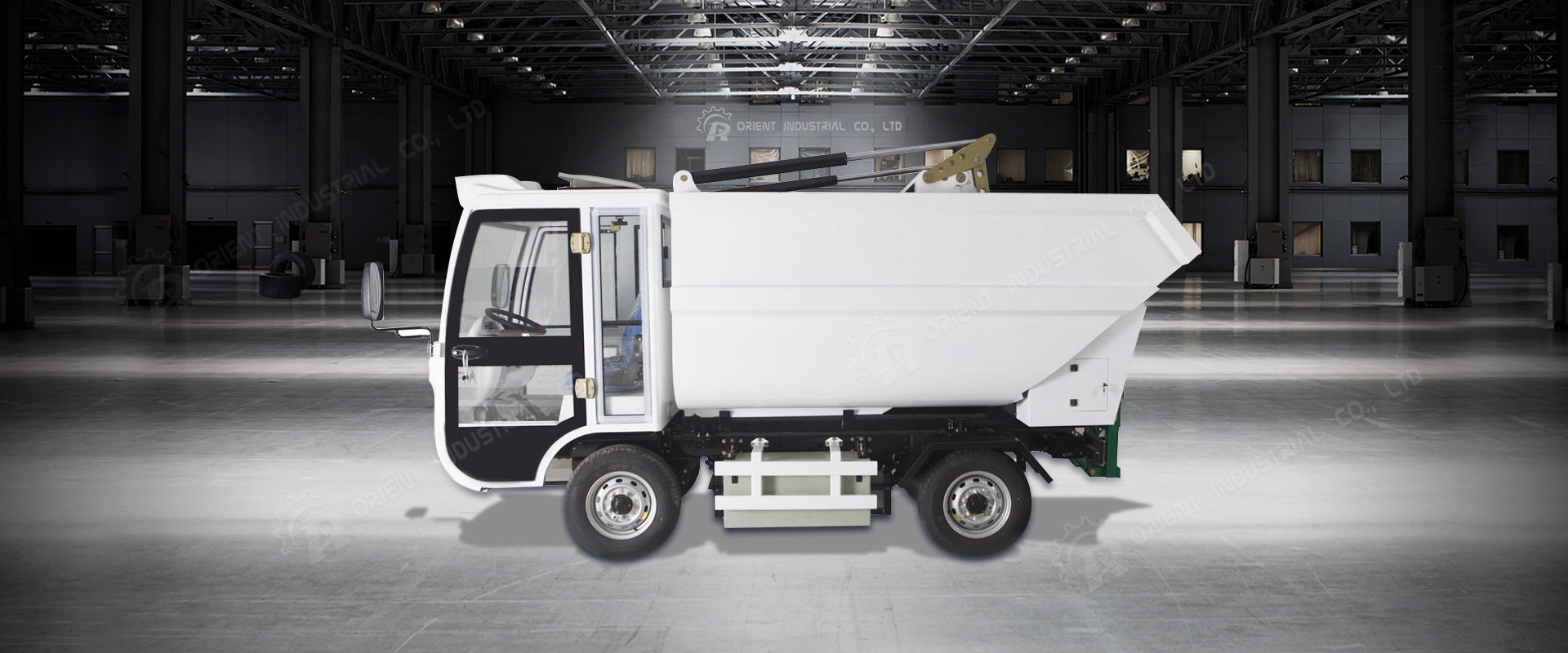 OR-H91 Rear Side Garbage Collecting Vehicle